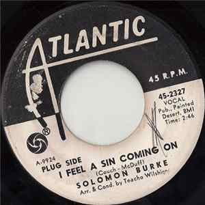 Solomon Burke - I Feel A Sin Coming On / Mountain Of Pride MP3