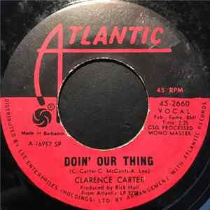 Clarence Carter - Doin' Our Thing / I Smell A Rat MP3