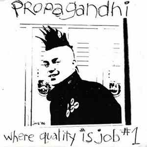 Propagandhi - Where Quality Is Job #1 MP3
