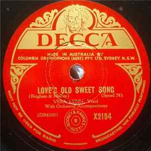 Vera Lynn - Love's Old Sweet Song / Home, Sweet Home MP3